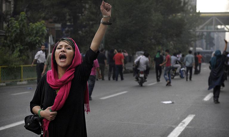 مظاهرات-في-ايران