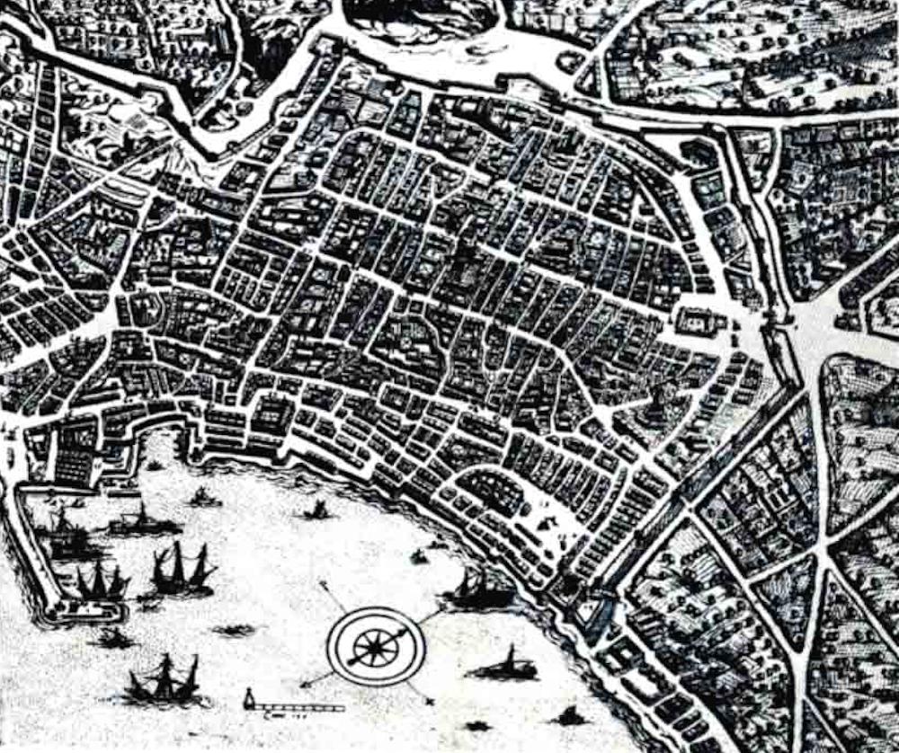 La Napoli greco-romana: strade e cartografia - Mar dei