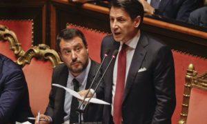 Conte - Salvini - Crisi
