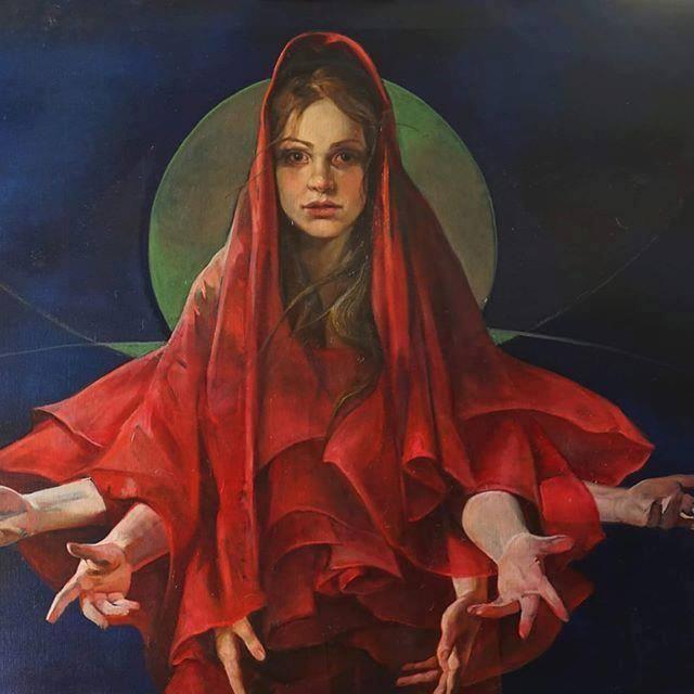 a madonna de rose
