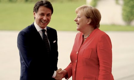 Stati Recovery Fund - Conte - Merkel