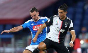 Juventus - Napoli - coronavirus