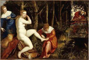 Tintoretto, Susanna e i vecchioni